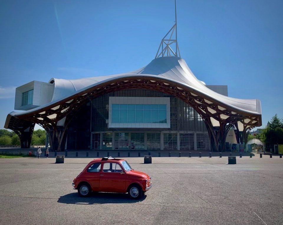 Façade du Centre Pompidou Metz